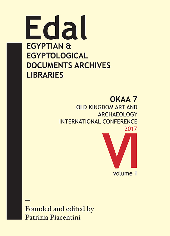 edal: egyptian & egyptological documents archives libraries - n. 6