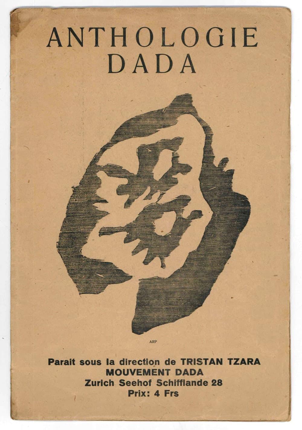 dada 4-5. [in cop.: anthologie dada. paruit sous la direction de tristan tzara.]