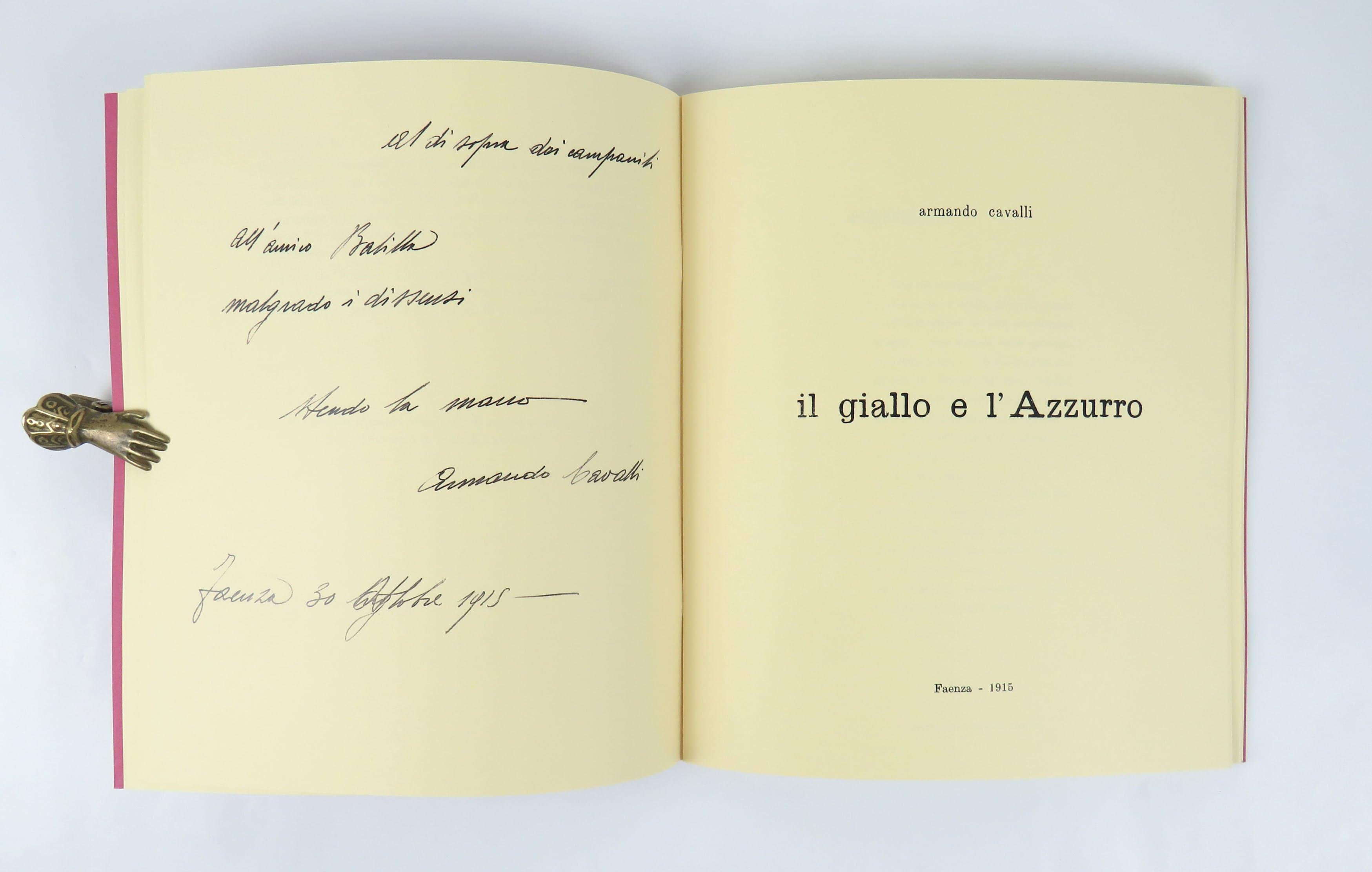 cavalli title page