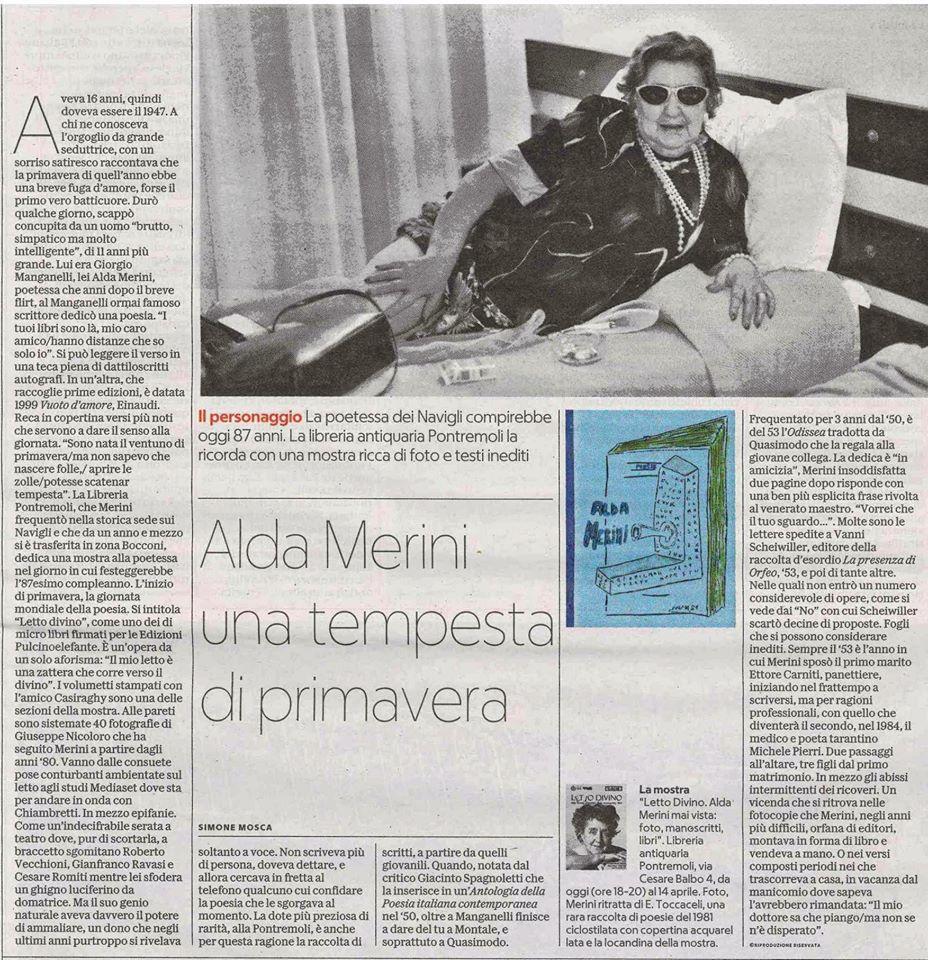 Alda Merini - La Repubblica