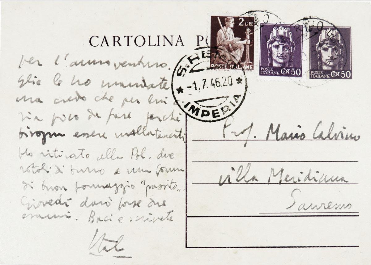 Calvino cartolina
