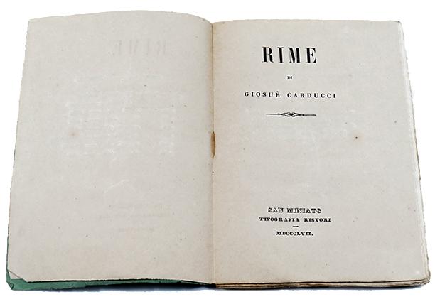 Carducci Rime