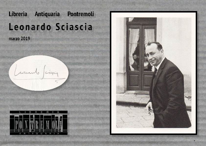 Catalogo Sciascia - copertina