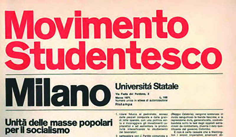 Movimento studentesco