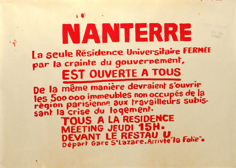 manifesto maggio francese 1