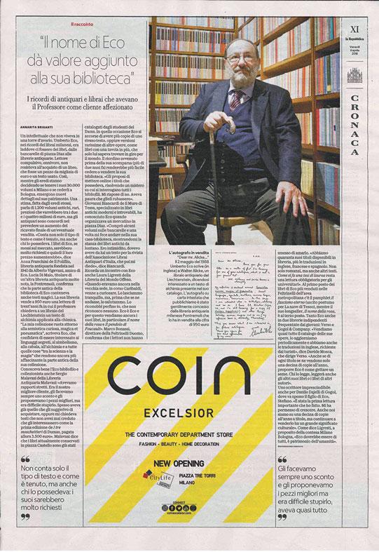 Umberto Eco - La Repubblica