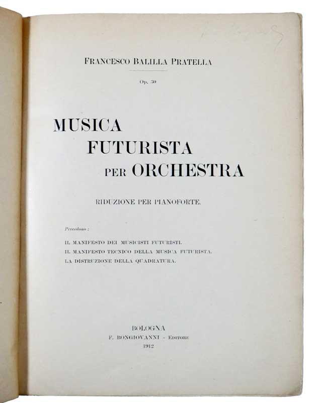 Pratella musica