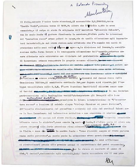 Umberto Eco - testo in prosa